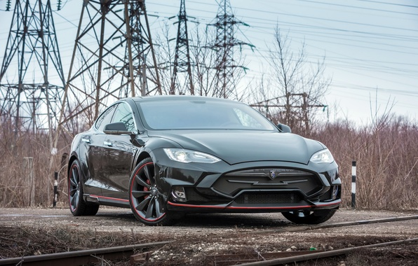 Картинка Tesla, Model S, тесла, электрокар, Larte Design