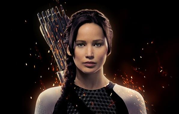 Картинка Jennifer, guns, girl, gun, Action, rock, Fantasy, Fire, black, Games, woman, beautiful, glamour, The, films, …