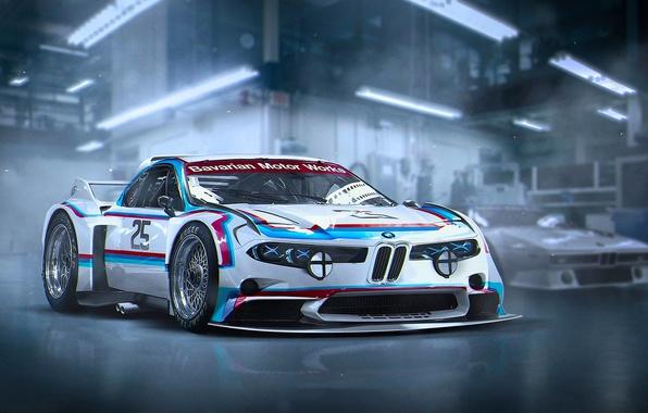 Картинка Concept, BMW, Tuning, Future, 3.0, CSL, by Khyzyl Saleem