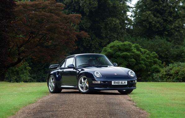 Картинка 911, Porsche, порше, Coupe, 993, UK-spec, 1997, Turbo S
