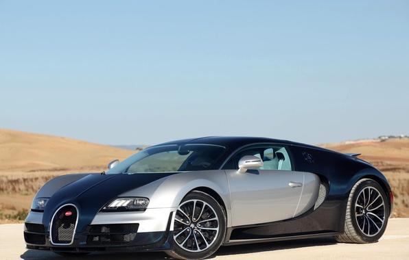 Картинка автомобиль, Bugatti Veyron, Super Sport, 16.4, супер спорт, бугатти вейрон