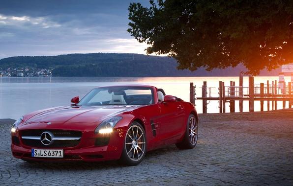 Картинка купе, кабриолет, SLS, roadster
