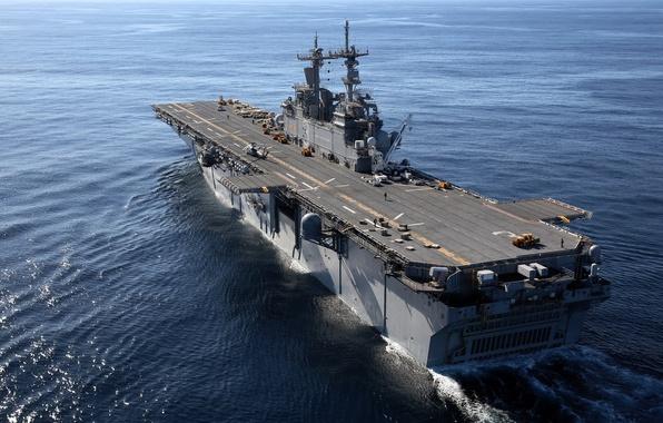 Картинка оружие, корабль, USS Kearsarge
