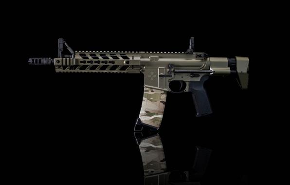 Картинка оружие, винтовка, umbrella, штурмовая, AR-15