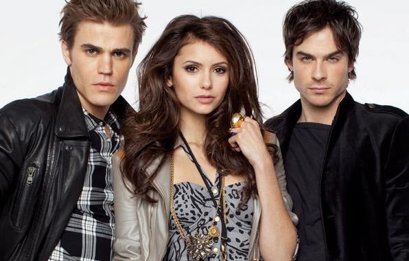 Картинка человек, кольца, пирс, вампир, Пол, актеры, братья, the, Нина, фотосессия, Елена, Elena, стефан, vampire, вампира, ...