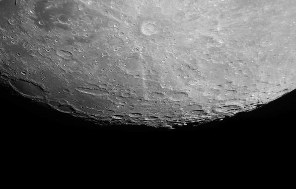 Картинка луна, спутник, Сатурн