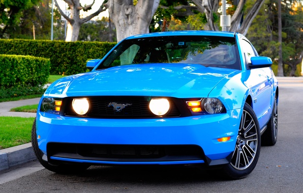 Картинка Mustang, Ford, 2010