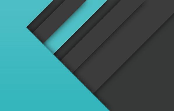 Картинка линии, абстракция, фон, голубой, черный