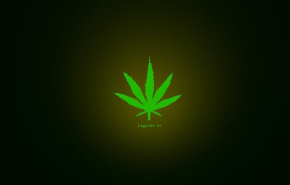 Картинка minimal, marijuana, legalize it, herbal