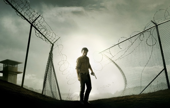 Картинка The Walking Dead, Rick Grimes, Ходячие мертвецы, Andrew Lincoln, Эндрю Линкольн