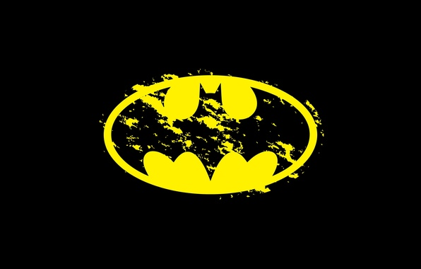 Картинка фон, лого, Бэтмен, Batman, DC Comics