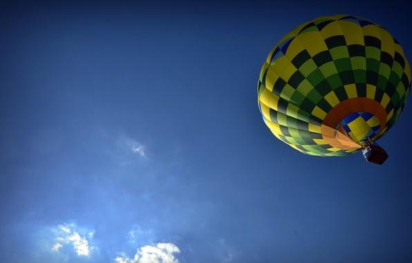 Картинка небо, воздушный шар, спорт
