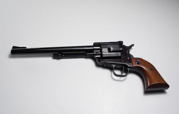 Картинка оружие, ствол, револьвер, рукоять, Ruger
