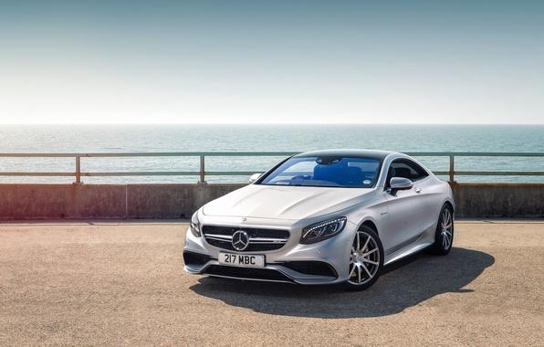 Картинка Mercedes-Benz, мерседес, AMG, Coupe, S-Class, 2015, C217