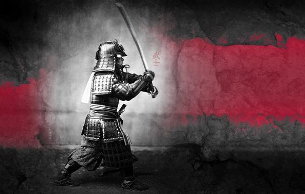 Картинка воин, самурай, рыцарь, Samurai
