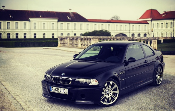 Картинка BMW, Черная, БМВ, Black, E46