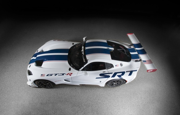 Картинка car, Dodge, суперкар, Viper, додж, race, SRT, GT3-R