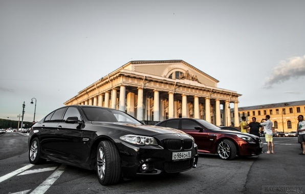 Картинка машина, авто, BMW, Тень, театр, перед, auto, смотра, E60, Давидыч, Smotra, Эрик Давидыч