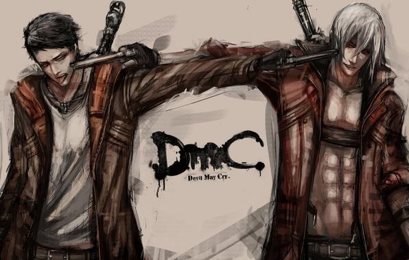 Картинка art, devil may cry, dante, Dmc, fan