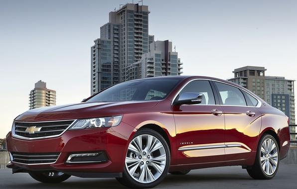 Картинка Chevrolet, эмблема, седан, IMPALA