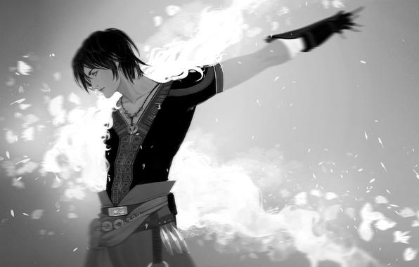 Картинка парень, Final Fantasy, art, Lightning Returns: Final Fantasy XIII, Noel Kreiss