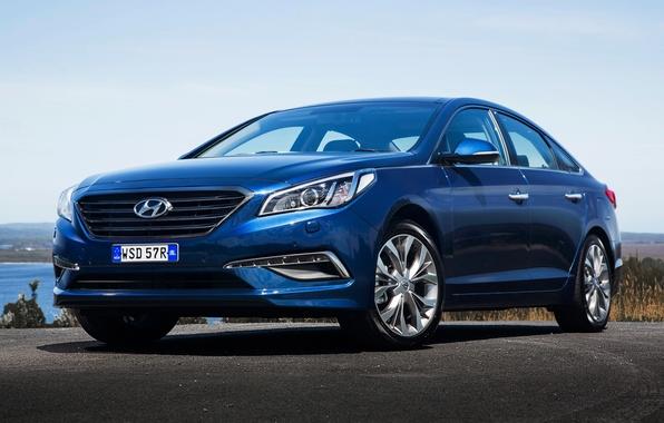Фото обои 2015, Sonata, AU-spec, соната, Hyundai, хундай