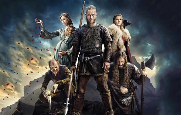 Картинка сериал, герои, воины, Vikings, Викинги