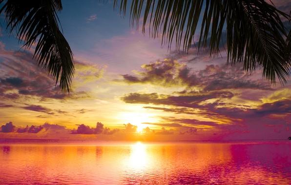 Картинка море, небо, вода, облака, пейзаж, природа, sky, sea, landscape, nature, красивые, water, beautiful, clouds, scene, …