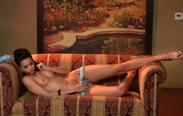 Видео голых на диване 15