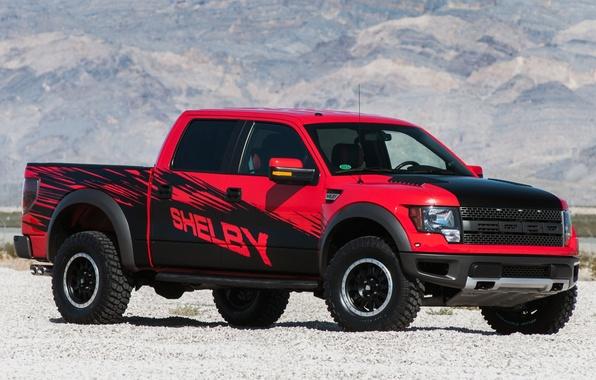 Картинка Ford, Shelby, Форд, Раптор, Raptor, пикап, передок, F-150, Шелби, Ф-150