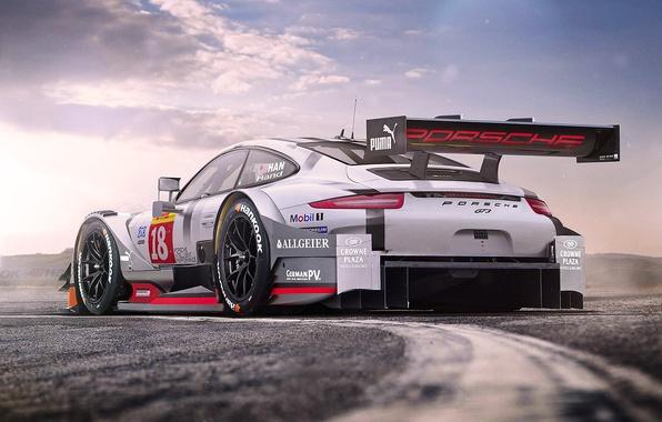 Картинка 911, Porsche, Car, Race, GT3, Beauty, Tuning, Future, by Khyzyl Saleem