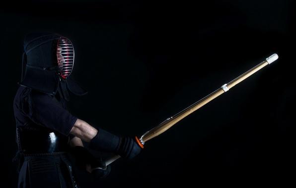 Картинка спорт, боец, kendo