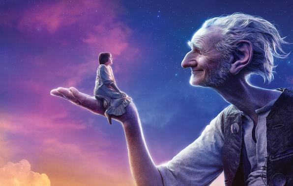 Картинка Girl, Clouds, Sky, Beautiful, Stars, DreamWorks, White, Female, The, Big, Large, Kid, Sunshine, EXCLUSIVE, Sophie, …