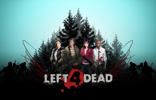 Фото обои иГры, Left 4 Dead 2, банда