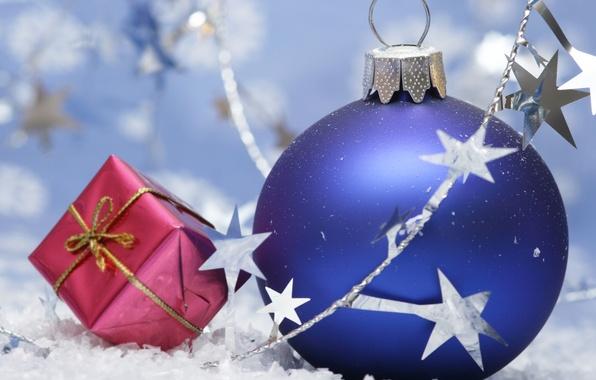 Картинка настроение, шары, новый год, рождество, праздники