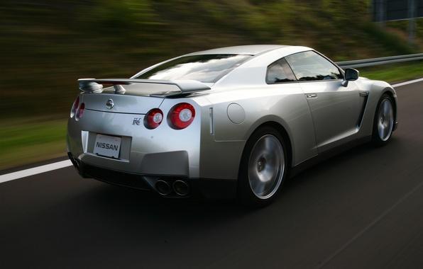 Картинка Nissan, SpecV, GT-R