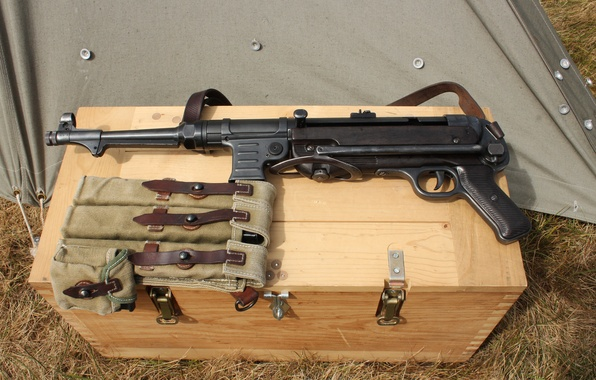 Mp 40 пистолет пулемёт времён второй