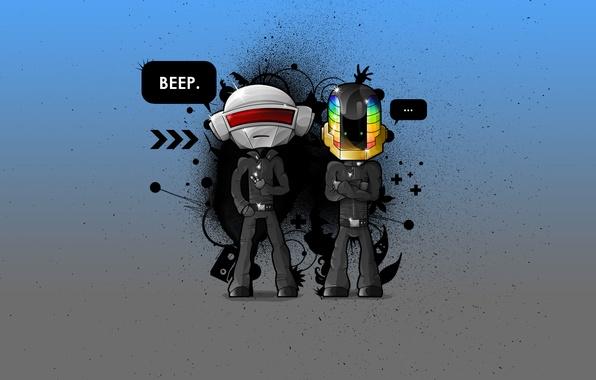 Картинка DaftPunk, Music, Robots, Electro