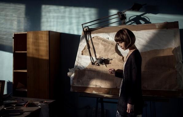 Картинка девушка, Maxim Guselnikov, Карина Ким, карта расхода, Karina Kim, Slightly Out Of Reach