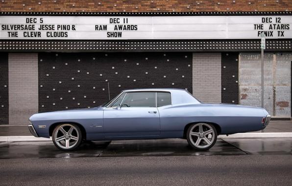 Картинка ретро, Chevrolet, классика, Chevy, Impala
