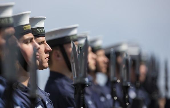 Картинка армия, солдаты, строй