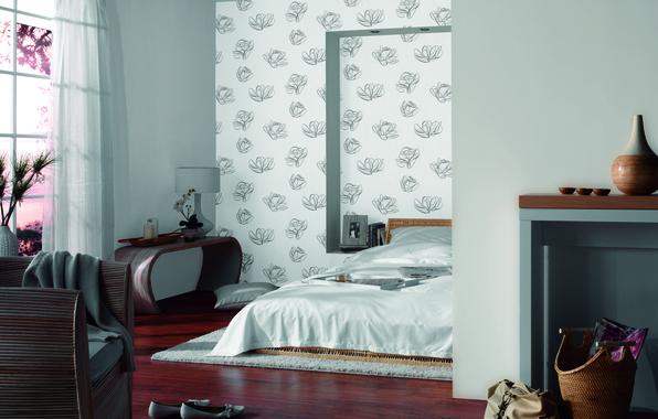 Картинка дизайн, стиль, комната, кровать, обувь, интерьер, кресло, стул, ваза, сумка, квартира