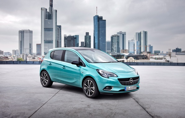 Картинка Opel, Corsa, опель, 5-door, 2014, Color Edition, корса
