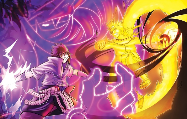 Картинка game, naruto, anime, boy, fight, battle, ninja, uchiha sasuke, uchiha, manga, shinobi, uzumaki naruto, japanese, …