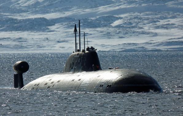 Картинка лодка, ВМФ, подводная, России, Project 971