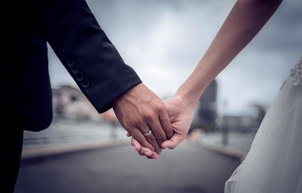 Картинка руки, платье, кольцо, костюм, невеста, жених
