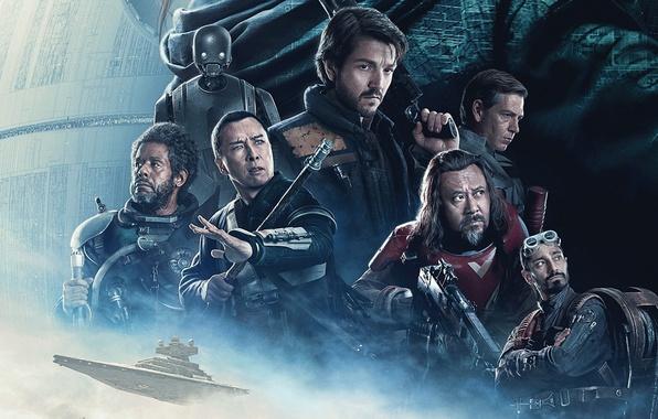 Картинка cinema, Star Wars, girl, sword, sea, woman, man, movie, samurai, film, starship, official wallpaper, Felicity ...
