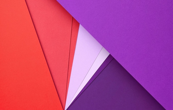 Картинка Red, Circles, Design, Lines, Lollipop, Lilac, Material, Android 5.0, Triangles, Angles