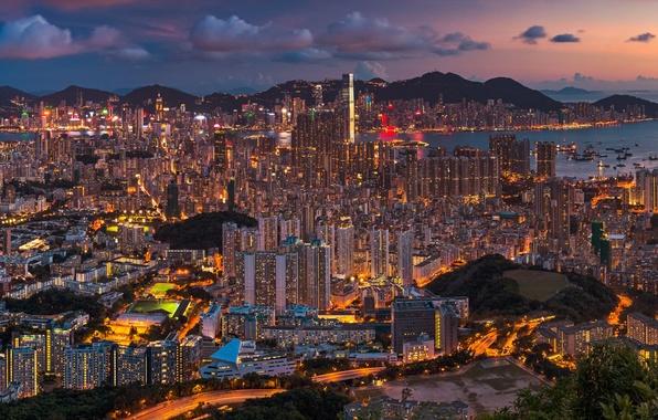 Гонконг обои рабочий стол 9
