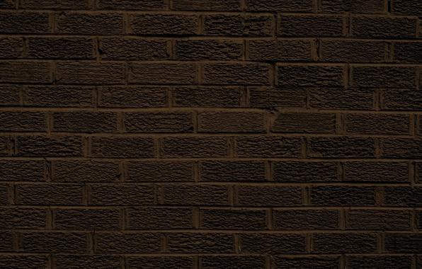 Картинка dark, wall, pattern, brick